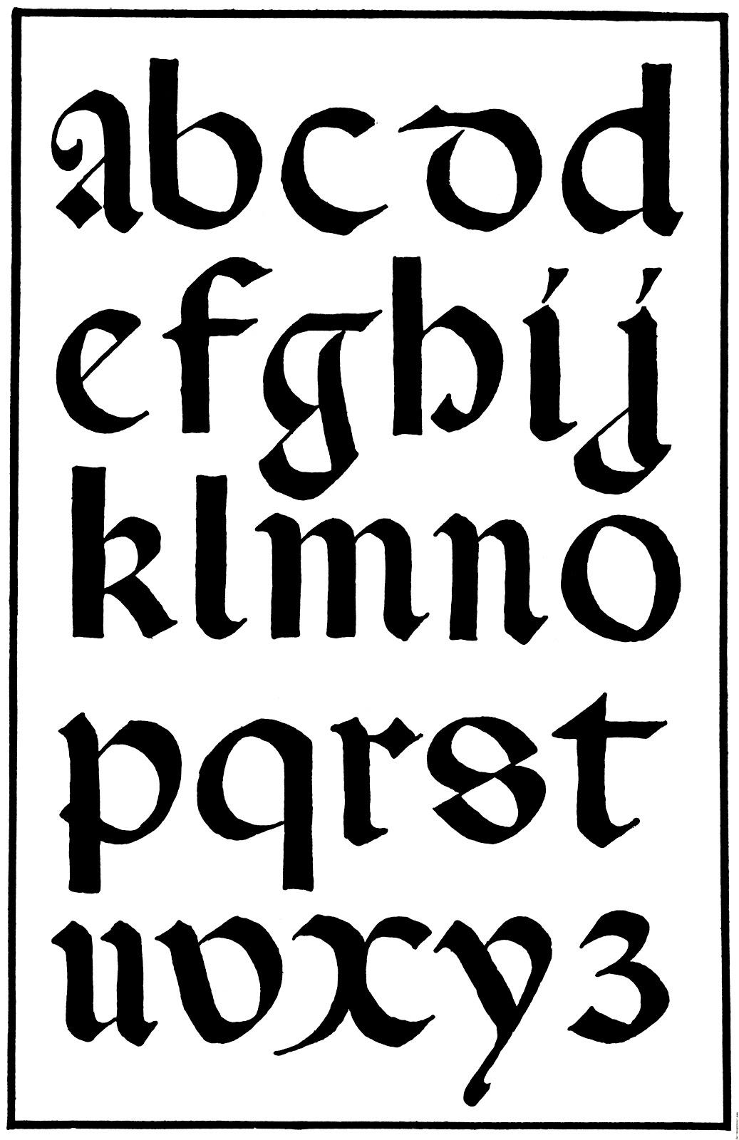 More On Calligraphy Lacunamundi